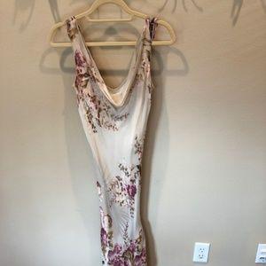 ICE~Dress~100% Silk~Floral Design~Size 6